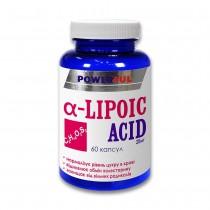 Альфа-липоевая кислота POWERFUL капсулы 1,0 г №60 Банка (Альфа-липоевая кислота)