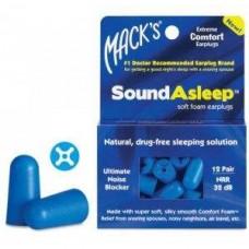 Беруши Sound Asleep мягкие (12 пар)