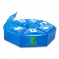 Органайзер ENJEE для таблеток пластик (Ромашка) PT 6034