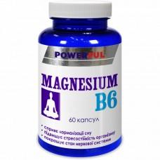 Магний + Витамин B6 POWERFUL капсулы 1,0 г №60 Банка