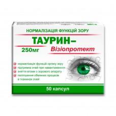 Таурин-Визиопротект, капсулы №50