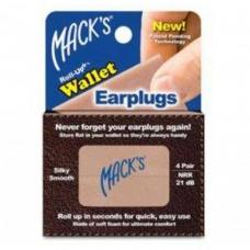 Беруши Roll-Ups wallet earplugs (4 пары)