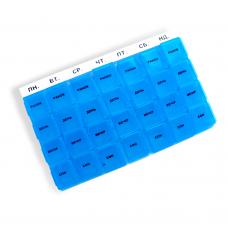 Органайзер для таблеток пластиковый Неделя PT 6039