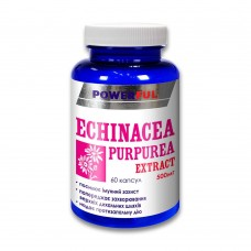Экстракт эхинацеи пурпурной POWERFUL капсулы 1,0 Г №60 Банка