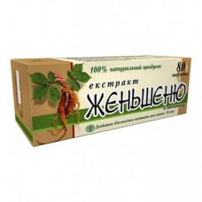 Экстракт корня женьшеня Ekstrakt kornya zhenshenya