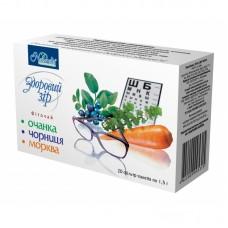 Фиточай Здоровое зрение - очанка,черника, морковь
