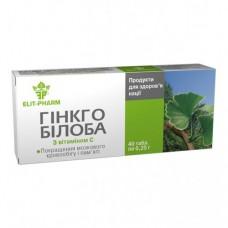 """ДД для кровоснабжения головного мозга """"Гинкго Билоба с витамином С"""" №40"""