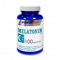 Мелатонин POWERFUL капсулы 1,0 г №100 Банка
