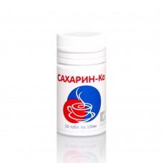 Сахарин-ка подсластитель, таблетки №50 Банка