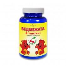 Медвежата витаминные ENJEE, желатиновые пастилки со вкусом вишни №60 банка