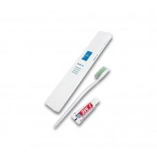 Зубной набор в индивидуальной упаковке ENJEE зубная щетка+зубная паста 3 г